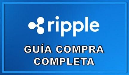 Cómo y Dónde Comprar Ripple XRP Criptomoneda y Guardar en Wallet
