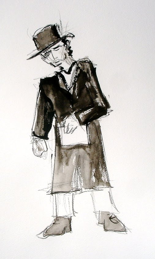 Ennyman's Territory: Dylan's Man in the Long Black Coat