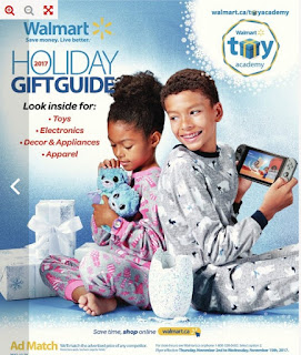 Walmart 2017 Holiday Gift Guide Flyer November 2 - 15, 2017