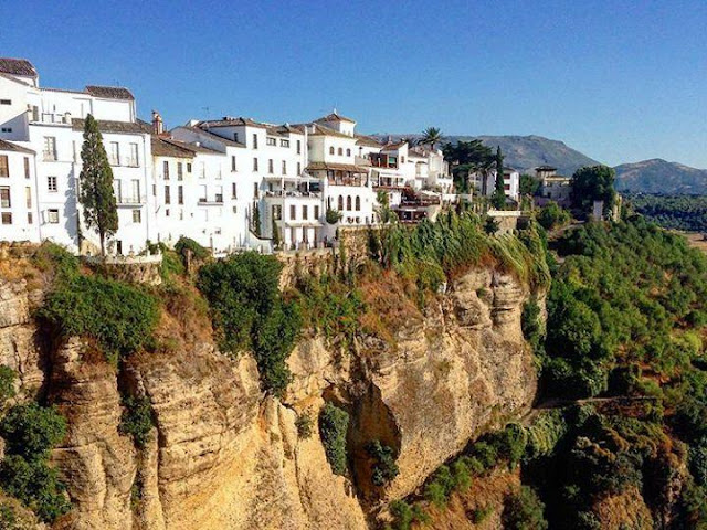 Views from the new bridge of Ronda
