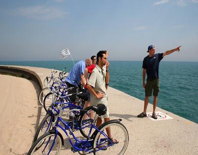 Bike Tour down Chicago's Lakeshore