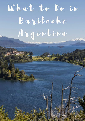 Pinterest Pin: What to Do in Bariloche Argentina Including Self-Drive Day Trips