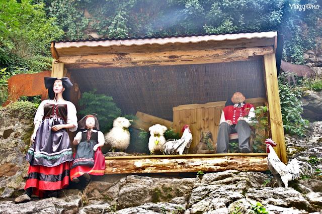 Scenografie alsaziane nel villaggio di Kaysersberg