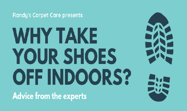 Why take your shoes off indoors? #infographic
