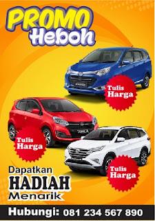 Template Brosur Mobil Lengkap