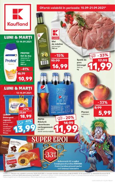 Kaufland Promotii + Catalog - Brosura 15-21.09 2021