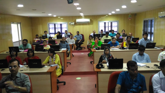 Participants from Bangladesh at NITTTR, Chennai