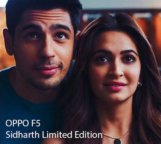 Oppo F5 Sidharth Limited Edition Launched in India for Rs.19,990