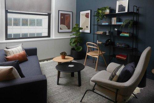 Interior Alma Yang Didesain Untuk Terapi Psikologis