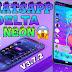 Nuevo whatsapp Delta neón v3.7.2 nuevos estilos de filas iconos youtube google facebook Incluido