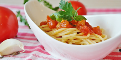 Italian made Pasta.