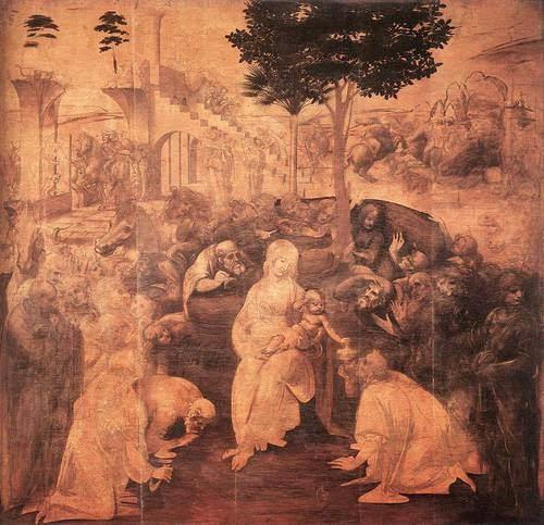 A Adoração dos Magos - Leonardo Da Vinci | O maior artista de todos os tempos