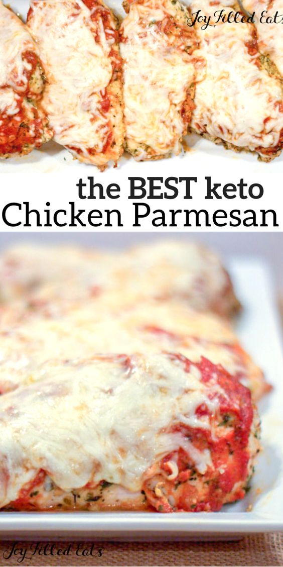 The Best Keto Chicken Parmesan