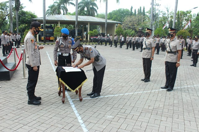 Kasat Binmas Polres Nganjuk Menduduki Jabatan Baru Sebagai Kapolsek Warujayeng,Siap Berinovasi dan Tingkatan Pelayanan Kepada Masyarakat