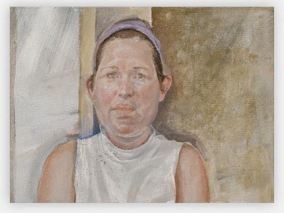 portrait of wendy wright 1986, sarah raphael