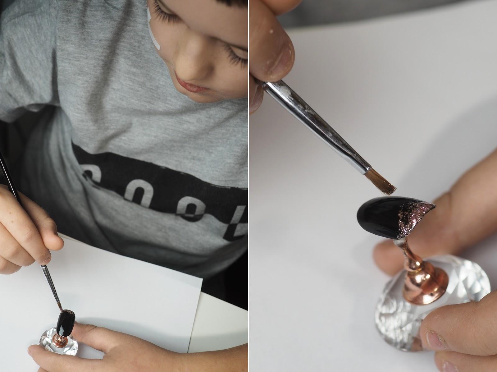 jak zrobić wzorek na paznokciach
