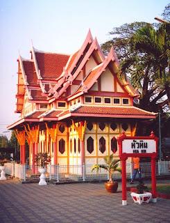 Hua Hin Bahnhof königlicher Wartesaal