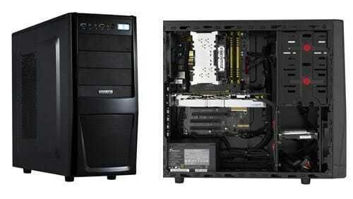 CPU casing
