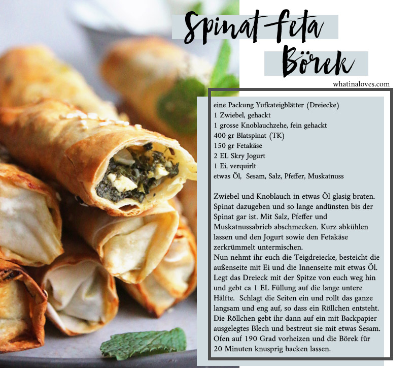 Spinat-Feta-Börek