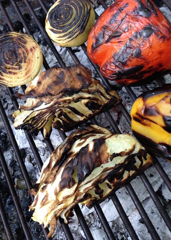 Good Stuff Nw Cooking With Fire Charred Cabbage