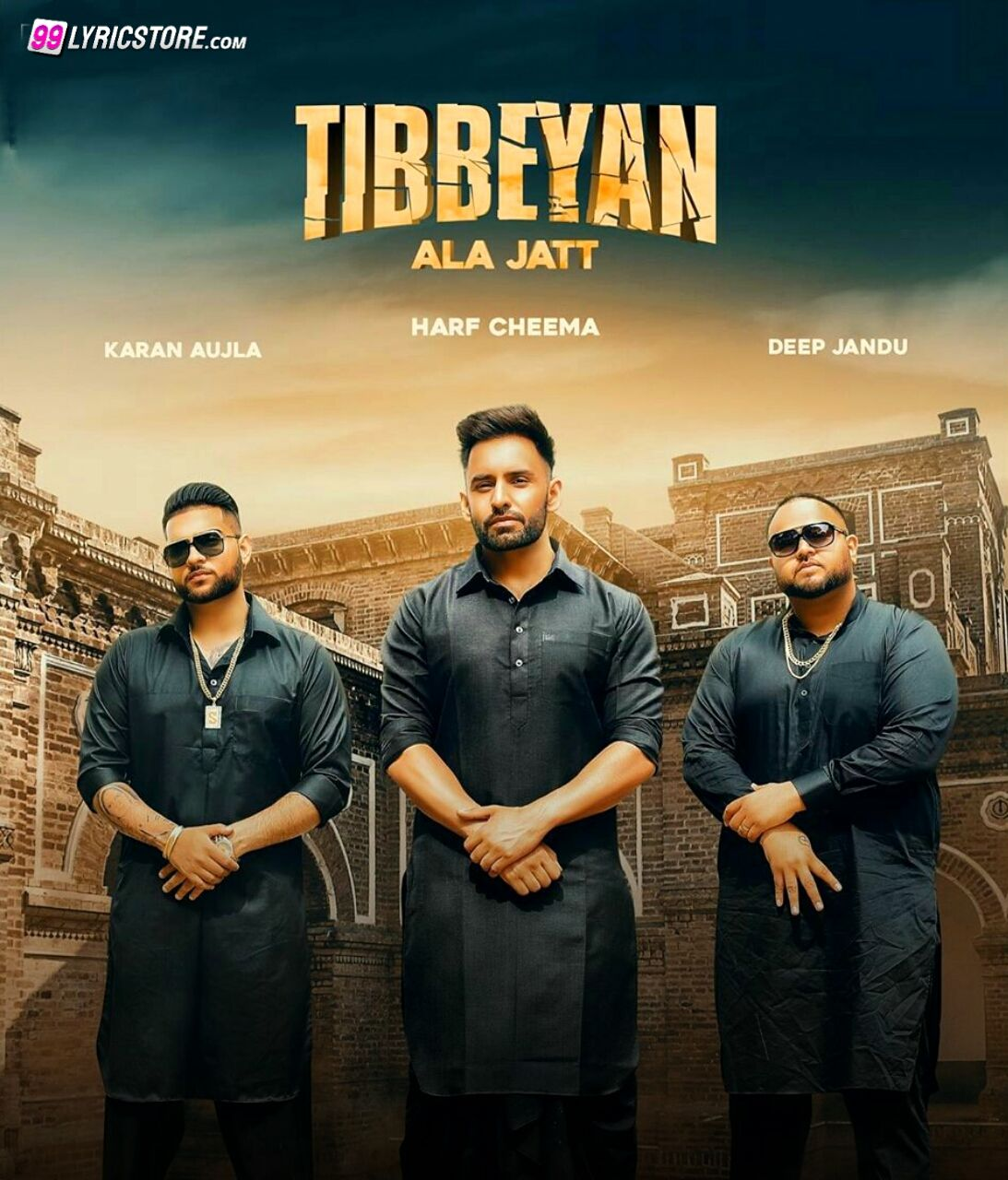 Tibbeyan Ala Jatt Punajbi Songs Lyrics  Sung by  Harf Cheema and Gulrez Akhtar
