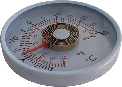 Termometer bimetal (tipe spiral)