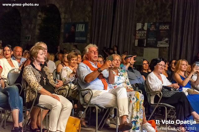 IL VOLO 'The Best Of 10 Years' koncert na ljetnoj pozornici u Opatiji 05.07.2021 Foto. Borna Ćuk