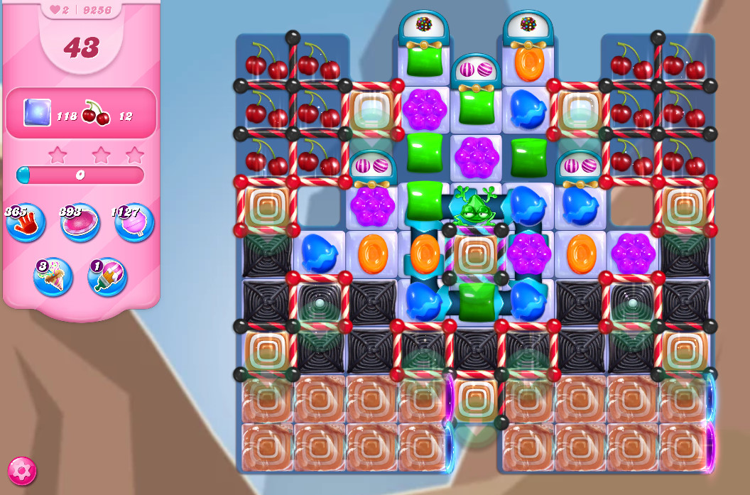 Candy Crush Saga level 9256