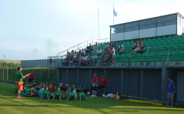 Έκτακτο: Στο γήπεδο του Βατανιακού σε Κατερίνη η έδρα της Καλαμαριάς, πρώτη προπόνηση χθες… (+pic)