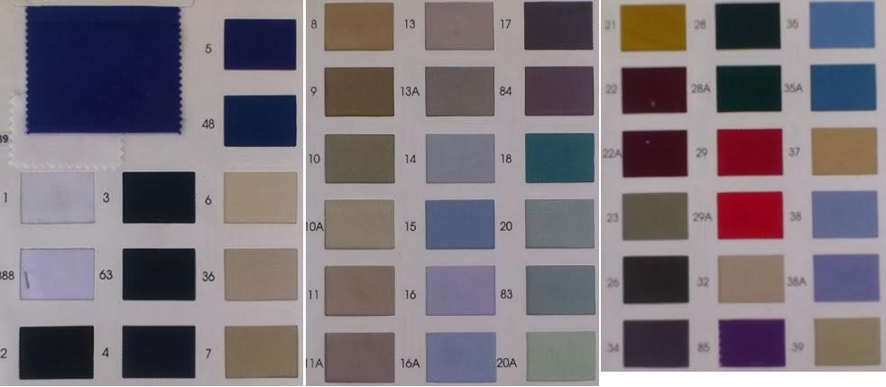 ผ้าค็อตต้อนมีสีอะไรบ้าง