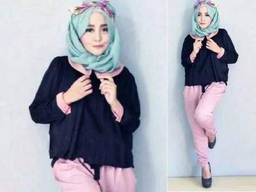 7 Tips Memakai Baju Muslim Bagi Wanita Pendek Agar Terlihat Tinggi