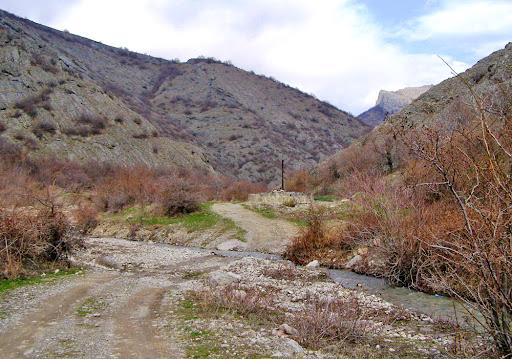 Речка Шелен в Крыму