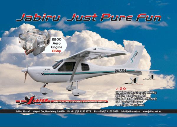 Air Queensland blogspot: Jabiru aircraft and engines (part 1)