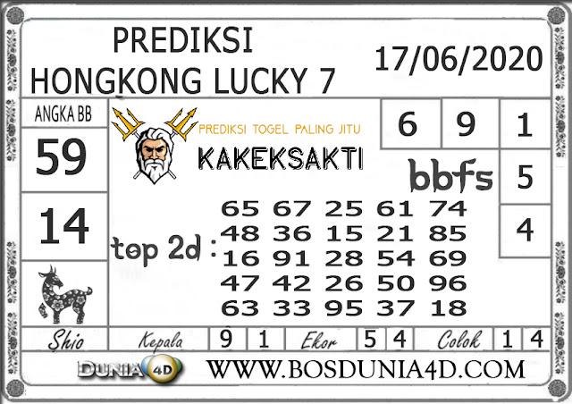 Prediksi Togel HONGKONG LUCKY 7 DUNIA4D 17 JUNI 2020