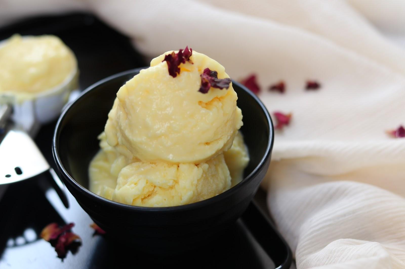 Eggless custard ice cream healthy kadai here is homemade custard ice cream recipe to beat the summer heat vanilla custard ice cream is light simple to make and is eggless ice cream recipe ccuart Images