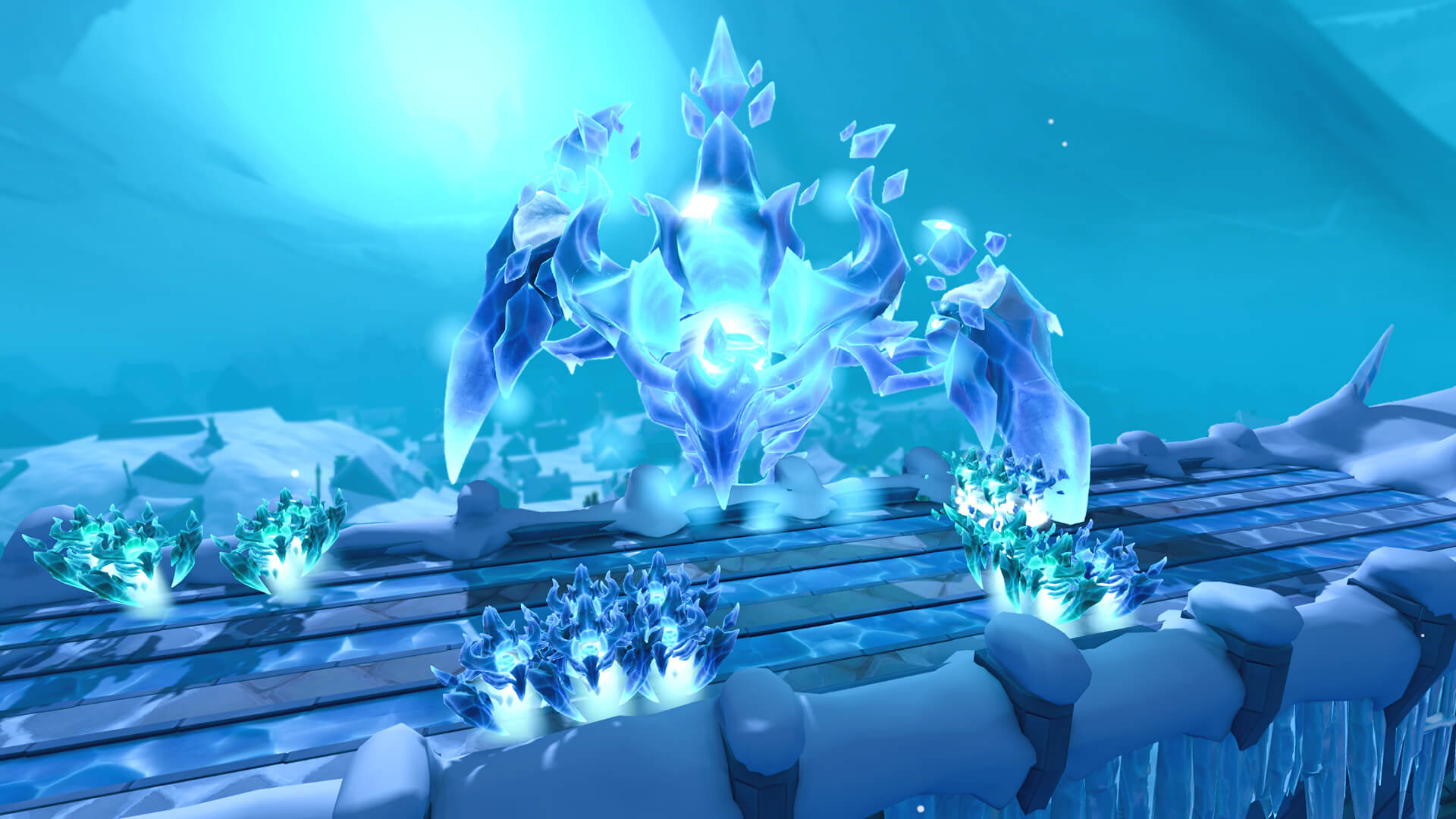 The Elder God Wars wage on as The Glacor Front unleashes the ice army of Wen in RuneScape - live today