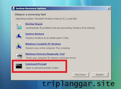 Cara Cek Komputer / Laptop Tidak Bisa Masuk Windows