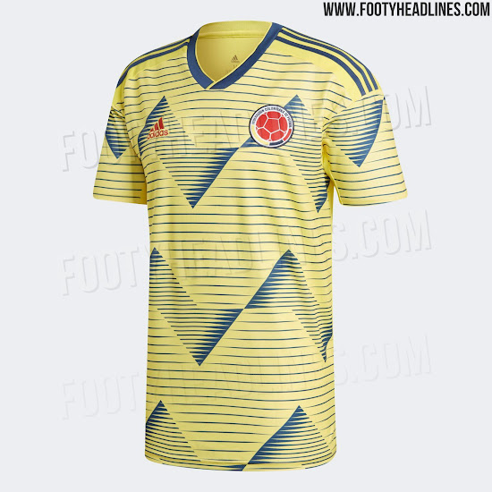 e2264b711 Colombia 2019 Copa America Kit Released - Footy Headlines