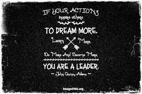 Your actions inspire others