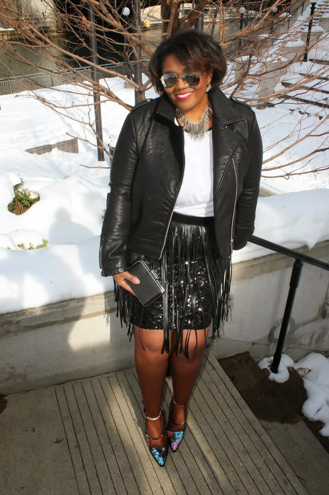 Valentines Day Rocker Chic PlusSize Leather Jacket Sequins Fringe Floral Block Heel Pumps.jpg