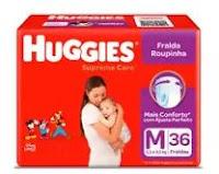Promoção Huggies Fralda Roupinha Mágica