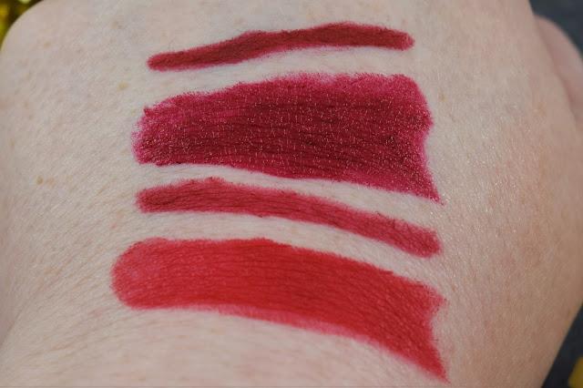 Gwen Stefani Urban Decay Lipstick Swatches
