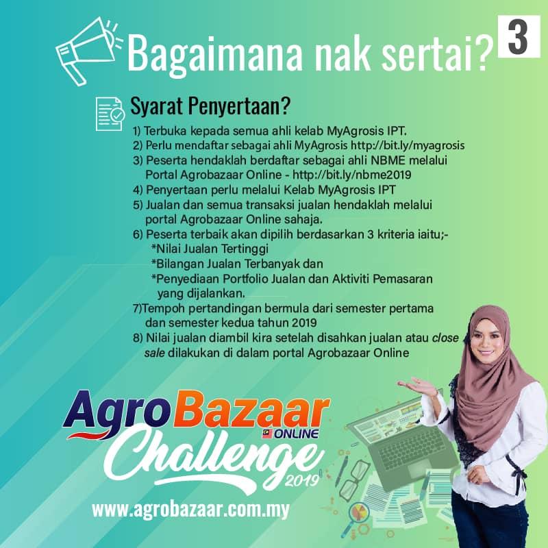Menangi Sehingga RM200,000 Dengan Menyertai Agrobazaar Online Challenge 2019