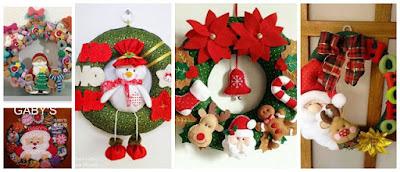 coronas-navideñas-fieltro