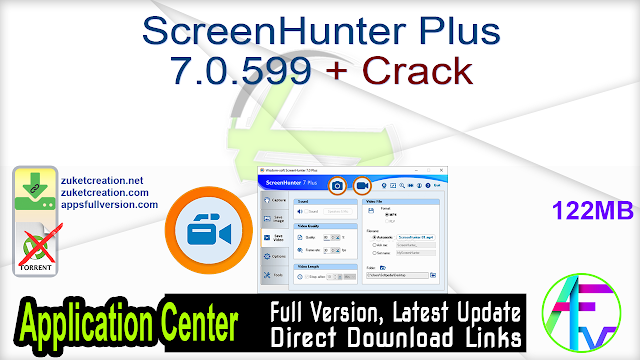 ScreenHunter Plus 7.0.599 + Crack