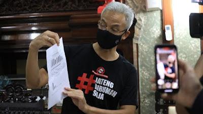 Gubernur Jawa Tengah Ganjar Pranowo 169 Tembakannya ke Anies memikirkan aroma pemilihan presiden, Ganjar: Jauh!