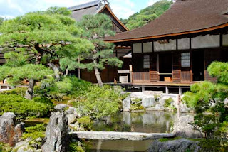 Japanese Gardens Ginkakuji Temple of the Silver Pavilion Kyoto Japan
