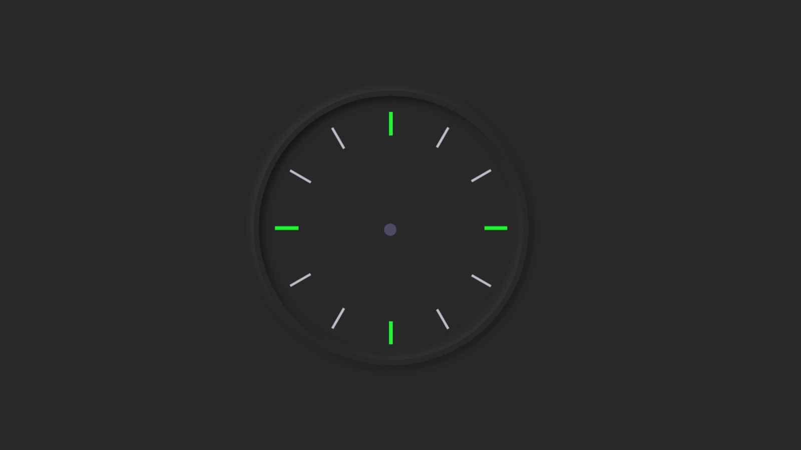 I made a circle using the HTML and CSS code below.