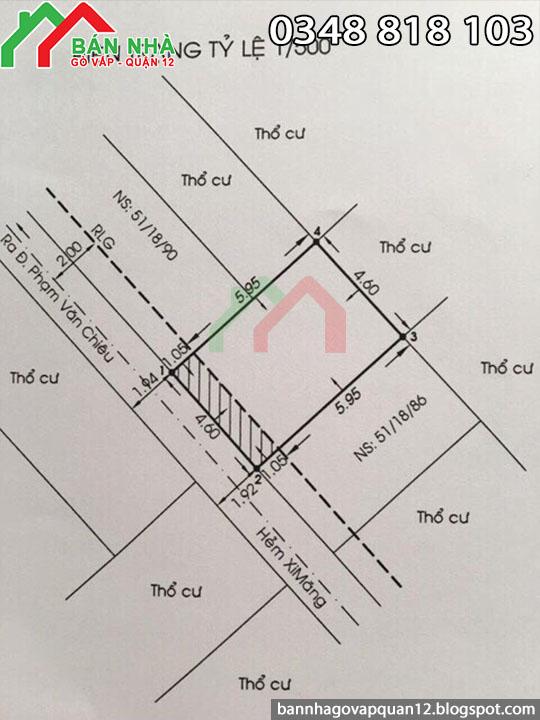 Nhà bán hẻm Phạm Văn Chiêu phường 14 Gò Vấp