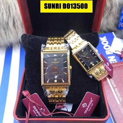 đồng hồ cặp đôi sunrise d013500